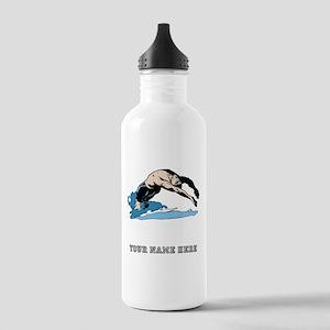 Custom Backstroke Dive Water Bottle