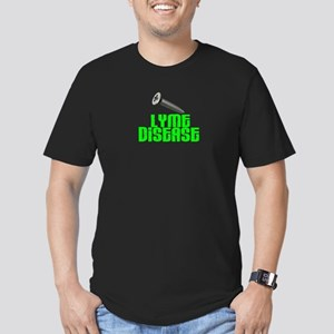 Screw Lyme Disease Men's Fitted T-Shirt (dark)