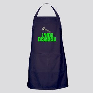Screw Lyme Disease Apron (dark)