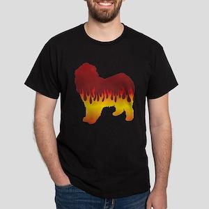 Lagotto Flames Dark T-Shirt