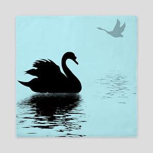 Two Swans Queen Duvet