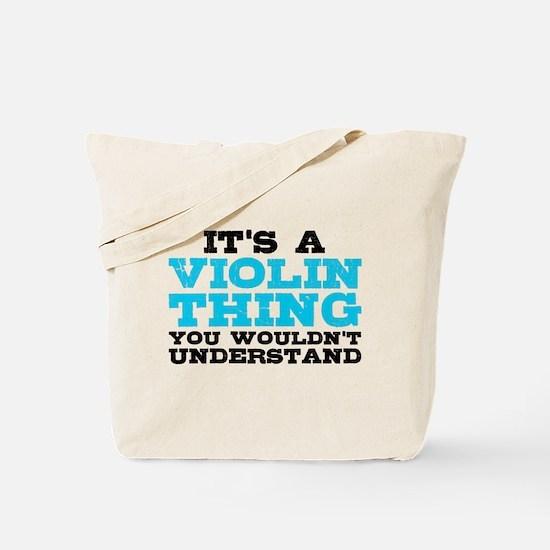 Violin Thing Tote Bag
