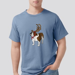 Bulldog in Antlers T-Shirt