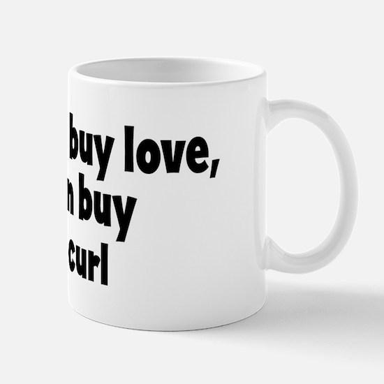 cheese curl (money) Mug
