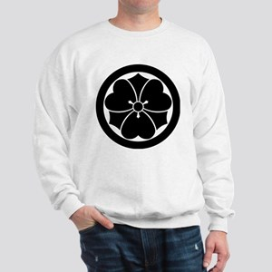 Wood sorrel with swords in circle Sweatshirt