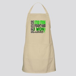 Lyme Disease Survivor 4 Apron