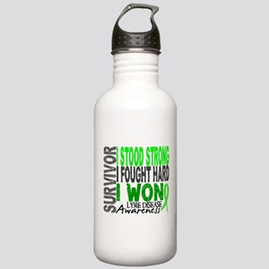 Lyme Disease Survivor Stainless Water Bottle 1.0L