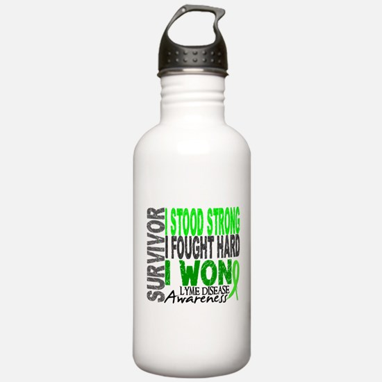 Lyme Disease Survivor Water Bottle