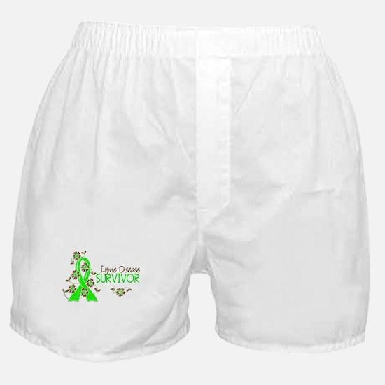 Lyme Disease Survivor 3 Boxer Shorts