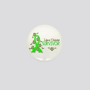 Lyme Disease Survivor 3 Mini Button