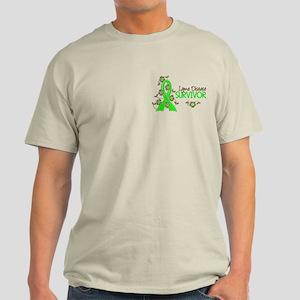 Lyme Disease Survivor 3 Light T-Shirt