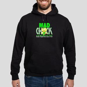 Lyme Disease Mad Chick 1 Hoodie (dark)