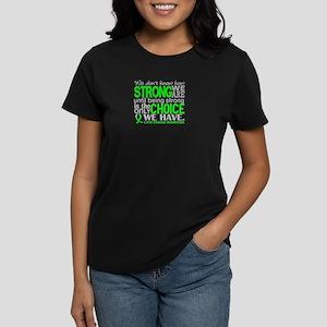 Lyme Disease HowStrongWeAre1 Women's Dark T-Shirt