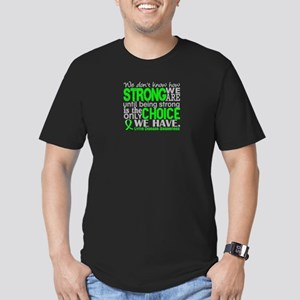 Lyme Disease HowStrong Men's Fitted T-Shirt (dark)