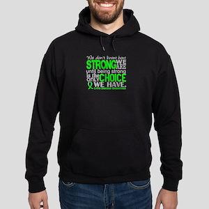 Lyme Disease HowStrongWeAre1 Hoodie (dark)