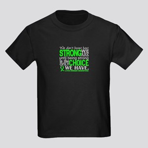 Lyme Disease HowStrongWeAre1 Kids Dark T-Shirt