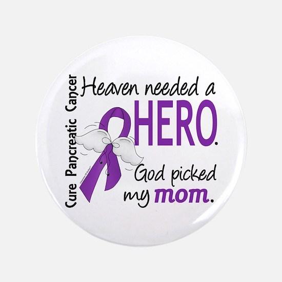 "Pancreatic Cancer Heaven Ne 3.5"" Button (100 pack)"