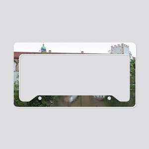 Amberger Stadtbrille License Plate Holder