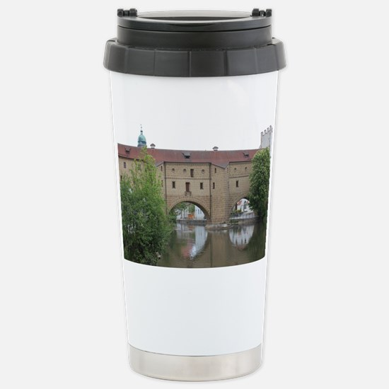 Amberger Stadtbrille Stainless Steel Travel Mug