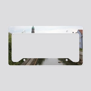 Amberg in Bavaria License Plate Holder