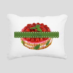 Life is Short...Eat Dess Rectangular Canvas Pillow
