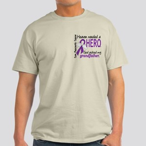 Pancreatic Cancer Heaven Needed Hero Light T-Shirt