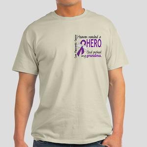 Pancreatic Cancer Heaven Needed Hero Light T-Shirt