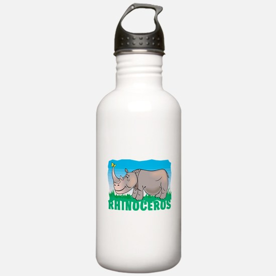 Kid Friendly Rhinocero Water Bottle