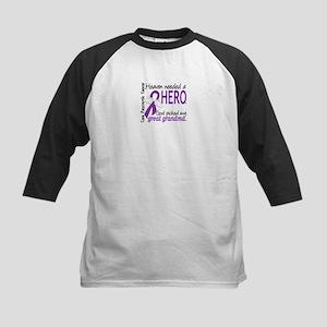 Pancreatic Cancer Heaven Need Kids Baseball Jersey