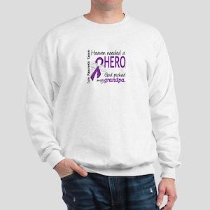 Pancreatic Cancer Heaven Needed Hero 1. Sweatshirt