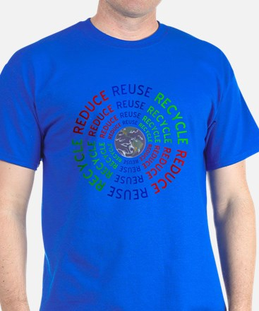 Reduce Reuse Recycle with Earth T-Shirt