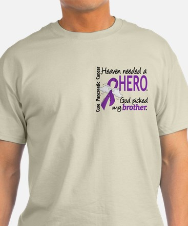 Pancreatic Cancer Heaven Needed Hero T-Shirt