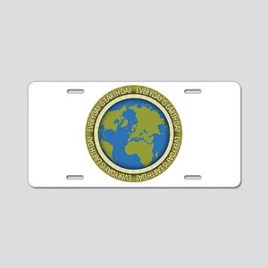 Everyday is Earth Day Aluminum License Plate