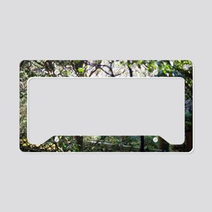 Japanese Garden License Plate Holder