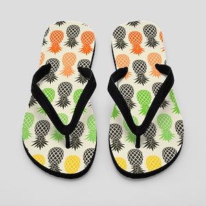 Pineapple Flip Flops