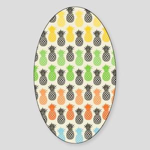 Pineapple Sticker (Oval)