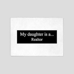 Daughter - Realtor 5'x7'Area Rug