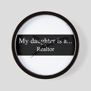 Daughter - Realtor Wall Clock