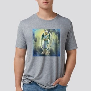 Angel Michael Mens Tri-blend T-Shirt