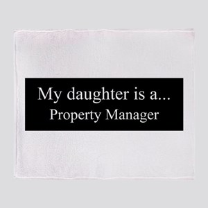 Daughter - Property Manager Throw Blanket