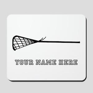 Custom Lacrosse Stick Mousepad
