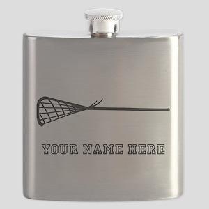 Custom Lacrosse Stick Flask