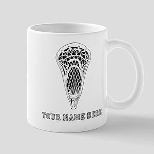Custom Lacrosse Stick Head Mugs