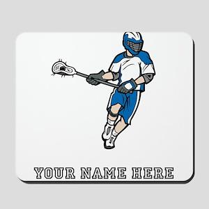 Custom Lacrosse Player Mousepad