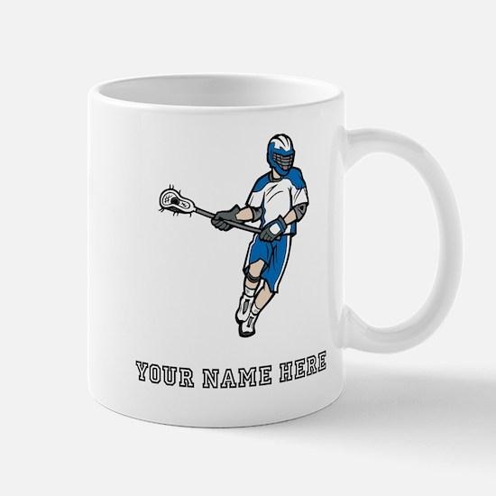 Custom Lacrosse Player Mugs
