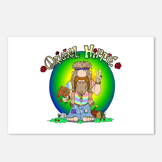 The Original Hippie Postcards (Package of 8)