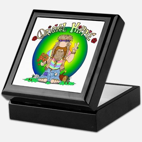 The Original Hippie Keepsake Box