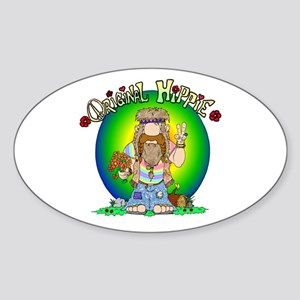 The Original Hippie Sticker