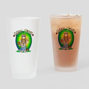 The Original Hippie Drinking Glass