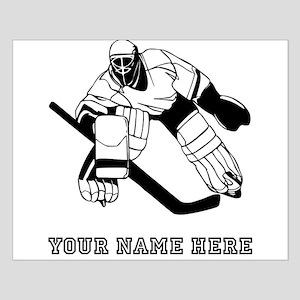 Custom Hockey Goalie Posters